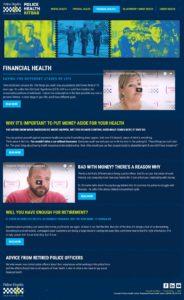 Police Health - Financial Health
