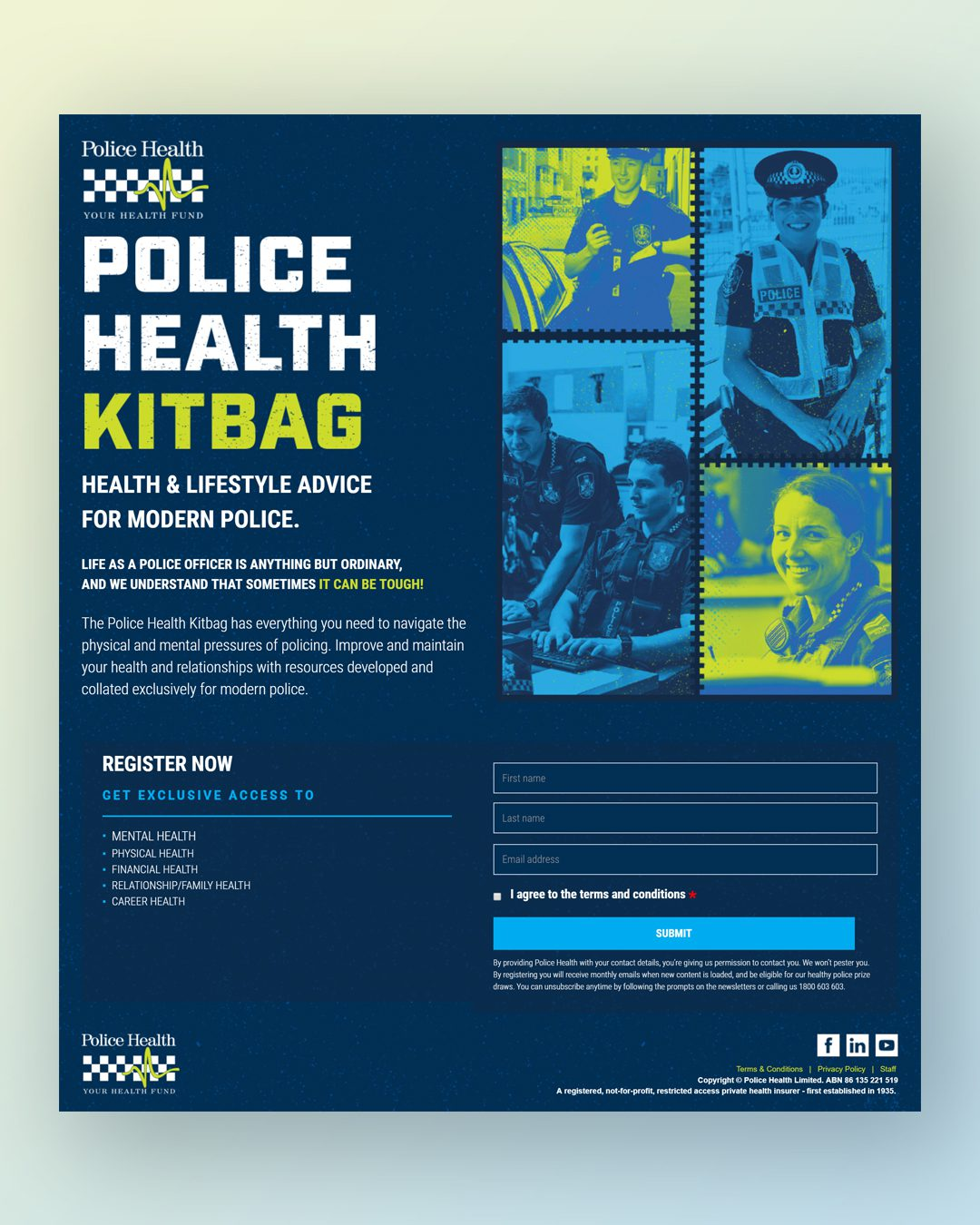 Police Health Microsite