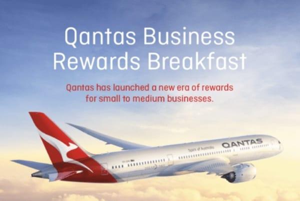 Qantas Event Invitation