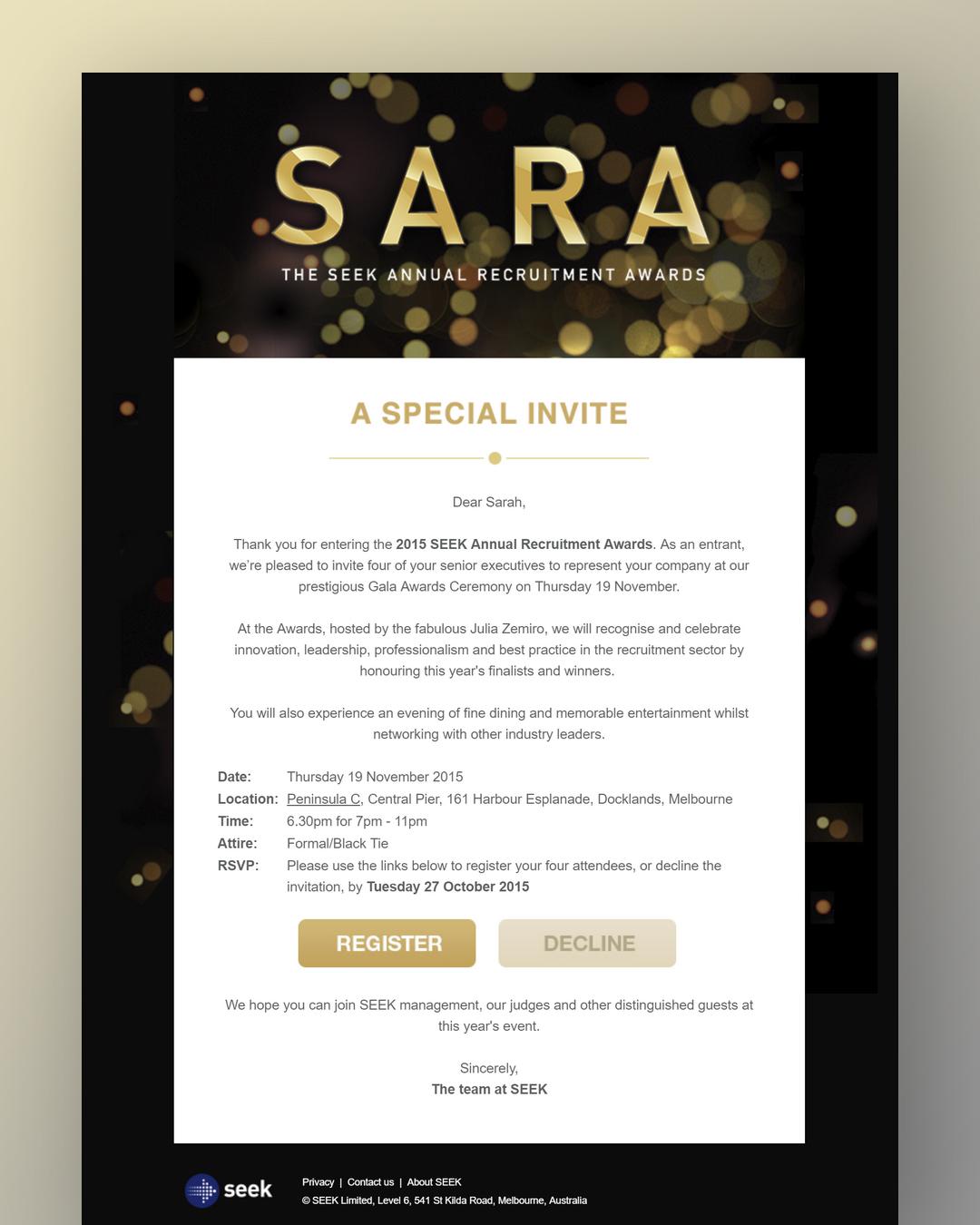 SEEK Invite