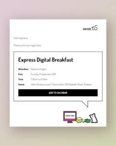 Sensis Express Digital Breakfast
