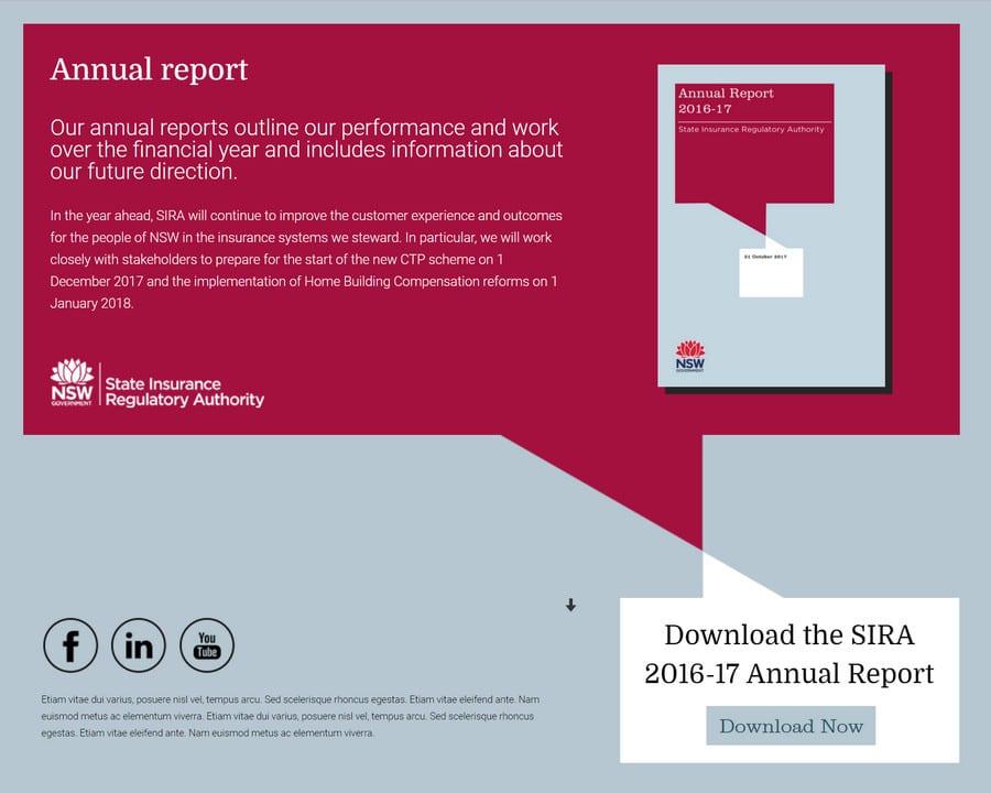 SIRA Annual Report