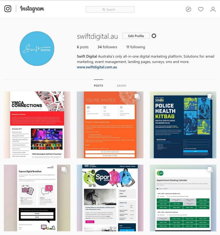 Swift Digital Instagram