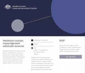 Commonwealth Superannuation Corporation landing page