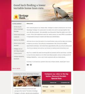 Heritage Bank eNews