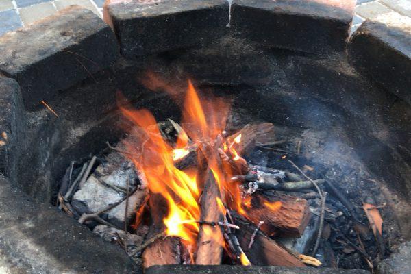 a firepit
