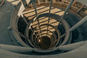 Email Feedback Loops - Spiral carpark ramp by Clay Banks