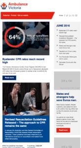internal communication examples newsletter