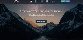 free online photo editors pizap
